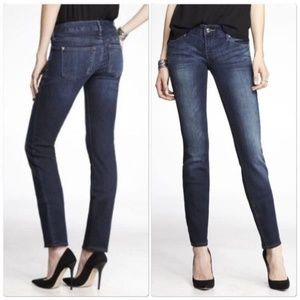 Express Stella Low Rise Skinny Jeans 2